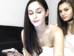 Two Bulgarian Prostitutes On Webcam