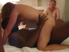 Amazing Homemade record with Gangbang, Interracial scenes