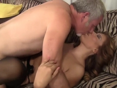 Hottest pornstar Nicky Ferrari in horny lingerie, latina porn movie