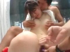 Fabulous Japanese slut Momoka Nishina, Megumi Shino, Julia in Crazy Dildos/Toys, Public JAV video