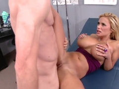 Jordan Ash fucks Shyla Stylez in the ass