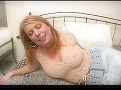 blond breasty mother i'd like to fuck anal screwed hard at home