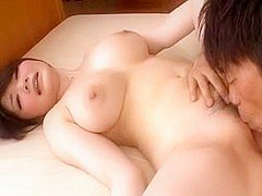 Japanese teen get tittyfuck and blowjob, creampie & cumshot!