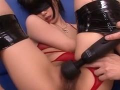 Crazy Japanese whore Satomi Ichihara in Amazing JAV uncensored Fingering movie