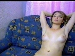 Stripping and showing off on webcam