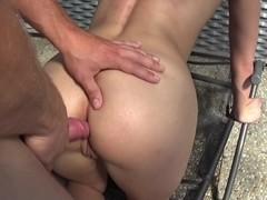 Blondienchen18 - Anal bis zum Orgasmus und Erschopfung