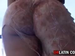 Dirty Latina Wants A Big Black Cock