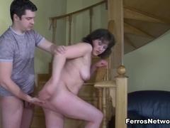 MomsGiveAss Video: Emilia B and Adam