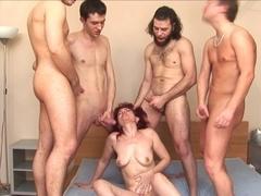 russian older janna team fuck part two