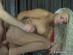Anal-Pantyhose Clip: Ophelia A and Peter B