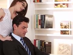 Fabulous pornstar Brooklyn Chase in Crazy DP, Pornstars adult clip