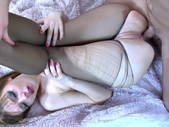 Anal-Pantyhose Video: Aubrey and Claudius