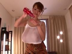 Hitomi Tanaka Oiled Up Scene 1