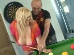 BBW Blonde Get Her Massive Tits Cum Covered