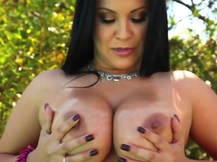 Picture perfect tits with very sexy and hot Sophia Lomeli