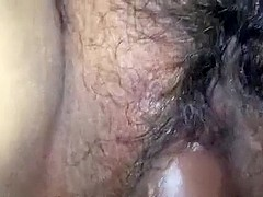 POV Hirsute Snatch Black Rod