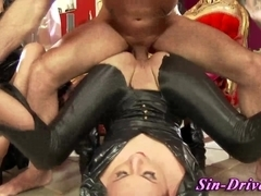Cfnm fetish hos cumswap after rough anal