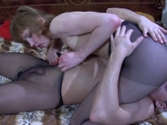 PantyhoseLine Video: Aubrey and Claudius