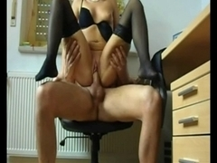 German-Sexy Office Sex