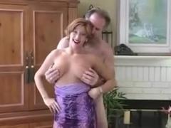 Amateur Milf big cock blowjob red lipstick pov