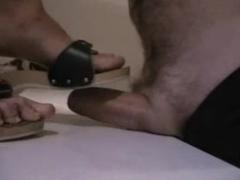 Sexy German foot fetish video clip