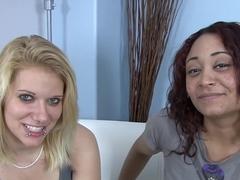 Amazing pornstars Lexxxi Larue and Jada Silk in best blonde, blowjob adult scene