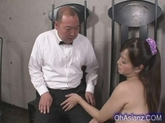 very pretty asian girl sucking tiny cock