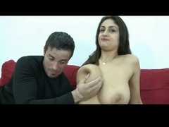 Breasty Sandra Receives a Good Spunk Flow by TROC