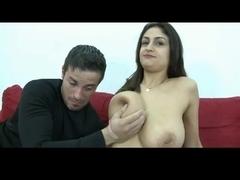 Breasty Sandra Receives a Good Spunk Flow by TROC