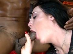 Enjoying strippers luscious rod