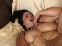 Jocks And A Marital-Device To Satisfy Large Tit Tanya's Curly Muff