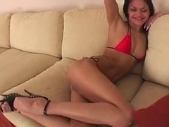 Hot Viola has anal sex, getting her booty filled