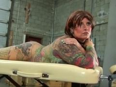 Blackwidow Jodi head tattoo