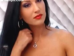 In my amateur brunette vid, I'm fucking my ass with toy