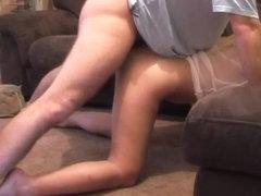 Humping my sweet girlfriend on tape