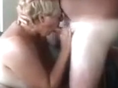 Another part of her sucking this cock and more hard face fucking