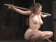 TT submissive punished harshly with whip