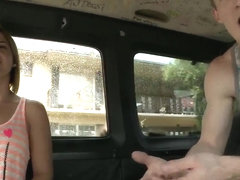 Molly XXX puts her ass on Bang Bus seat