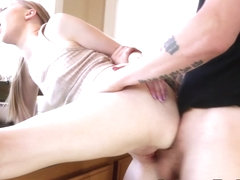 Stepsister gets facial