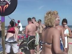 Crazy pornstar in fabulous striptease, outdoor xxx movie