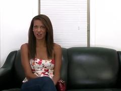 Cute amateur girl Staci Ellis is posing on cam
