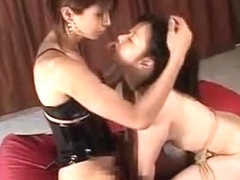 Incredible Japanese slut in Hottest BDSM, Threesome JAV scene