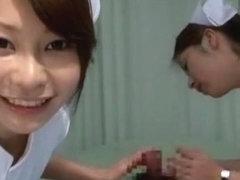 Crazy Japanese girl Yuri Aine, Mint Suzuki, Tsubaki Katou in Exotic Handjobs, Threesomes JAV movie