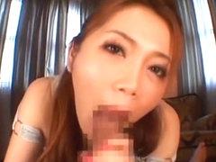 Fabulous Japanese whore Asami Ogawa in Crazy Blowjob/Fera, Facial JAV video