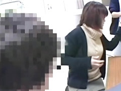 Asian fem gets her pussy examined and spied on spy cam