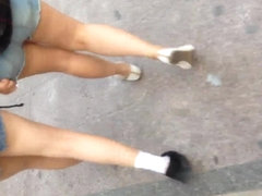 awesome turkish teens tight ass n legs