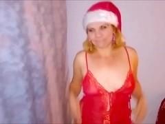 Russian mature mom blowjob and eat cum