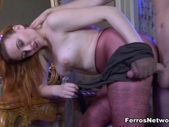 PantyhoseJobs Video: Bertie A and Rolf