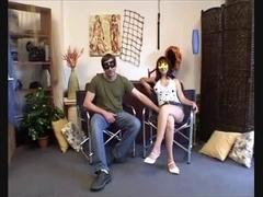 Italian couple shagging under masks