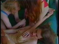 Four Hot Lesbians Go Cunt Wild